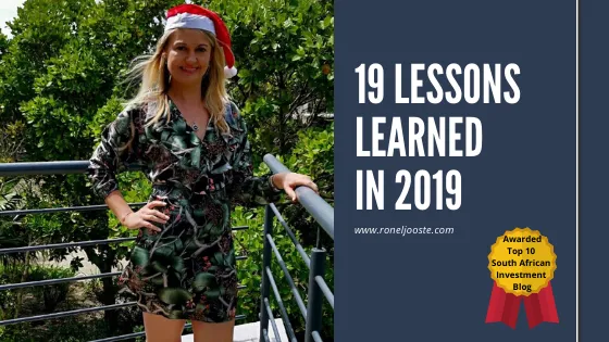 19 Lessons Learned in 2019