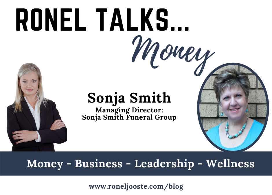 Ronel Talks Money Sonja Smith Funeral Group