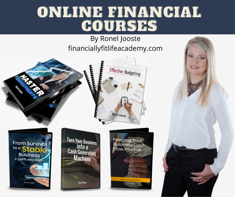 Online Financial Courses Ronel Jooste