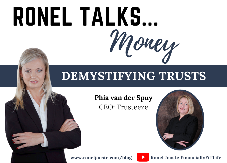 Ronel Talks Money: Demystifying Trusts