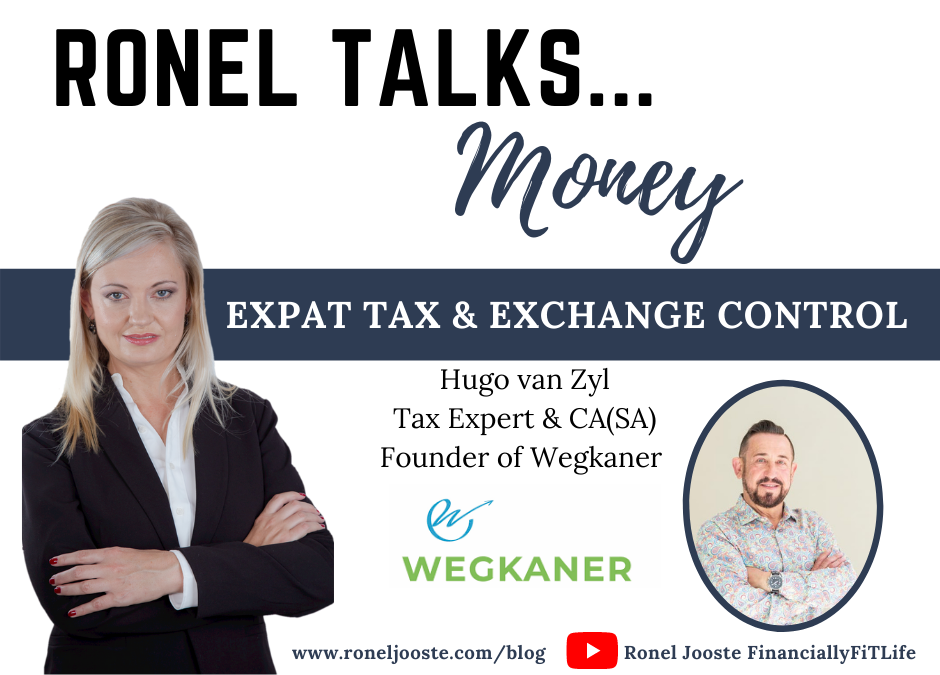Ronel Talks Money Expat Tax Hugo van Zyl