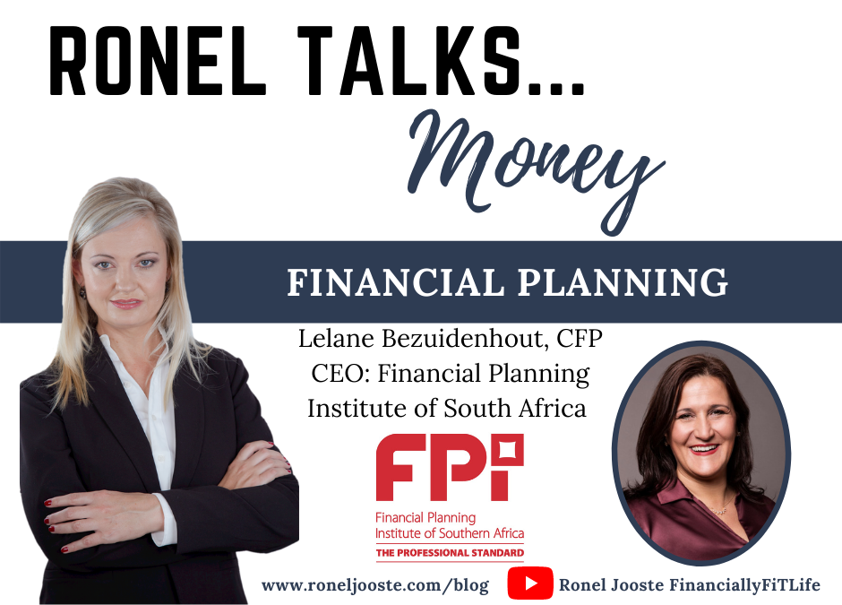 Ronel Talks Money: Financial Planning