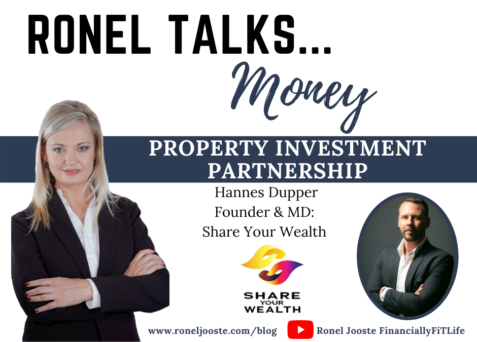 Ronel Talks Money Property Investment Partnership