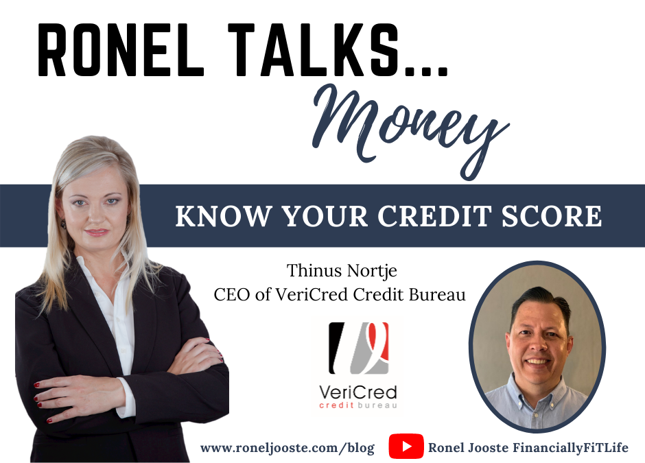 Ronel Talks Money: Know Your Credit Score
