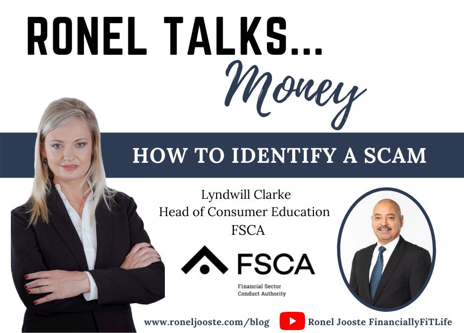 Ronel Talks Money FSCA