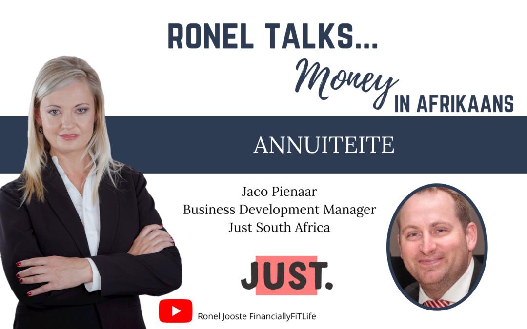 Ronel Talks Money: Annuiteite